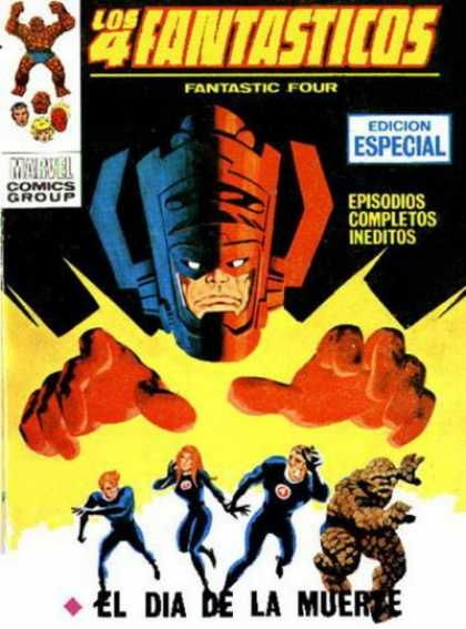 Fantastic Four comic from Spain