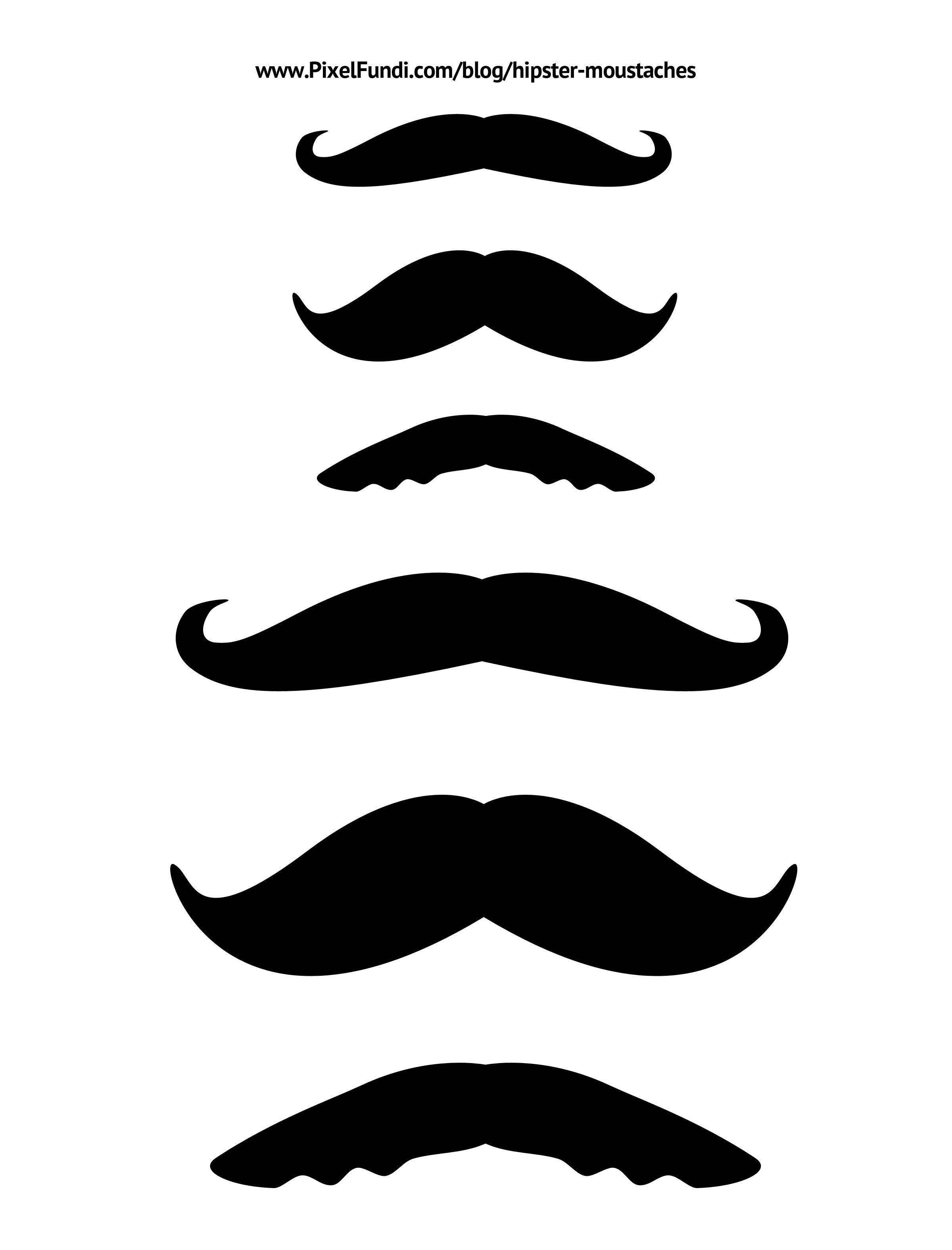 Http://www.clipartbest.com/large-mustache-template - ClipArt Best ...