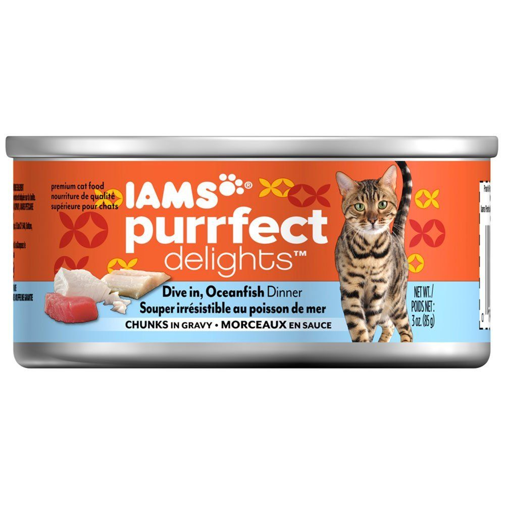 Iams Purrfect Delights Chunks Adult Wet Cat Food Quickly View This Special Cat Product Click The Image Cat Food Canned Cat Food Cat Food Wet Dog Food