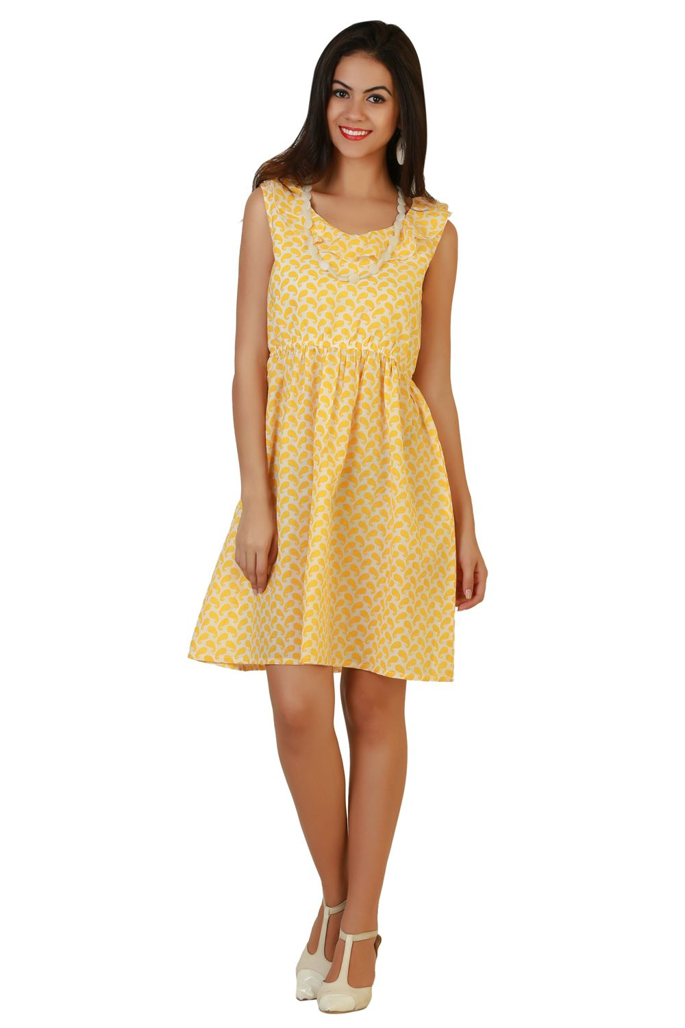 5cde0eac268 Shop Online for Belle Fille Yellow Dresses in India at Voonik.com ...