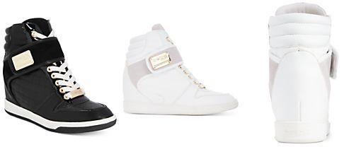 c19b3c789296 bebe Sport Colby Wedge Sneakers
