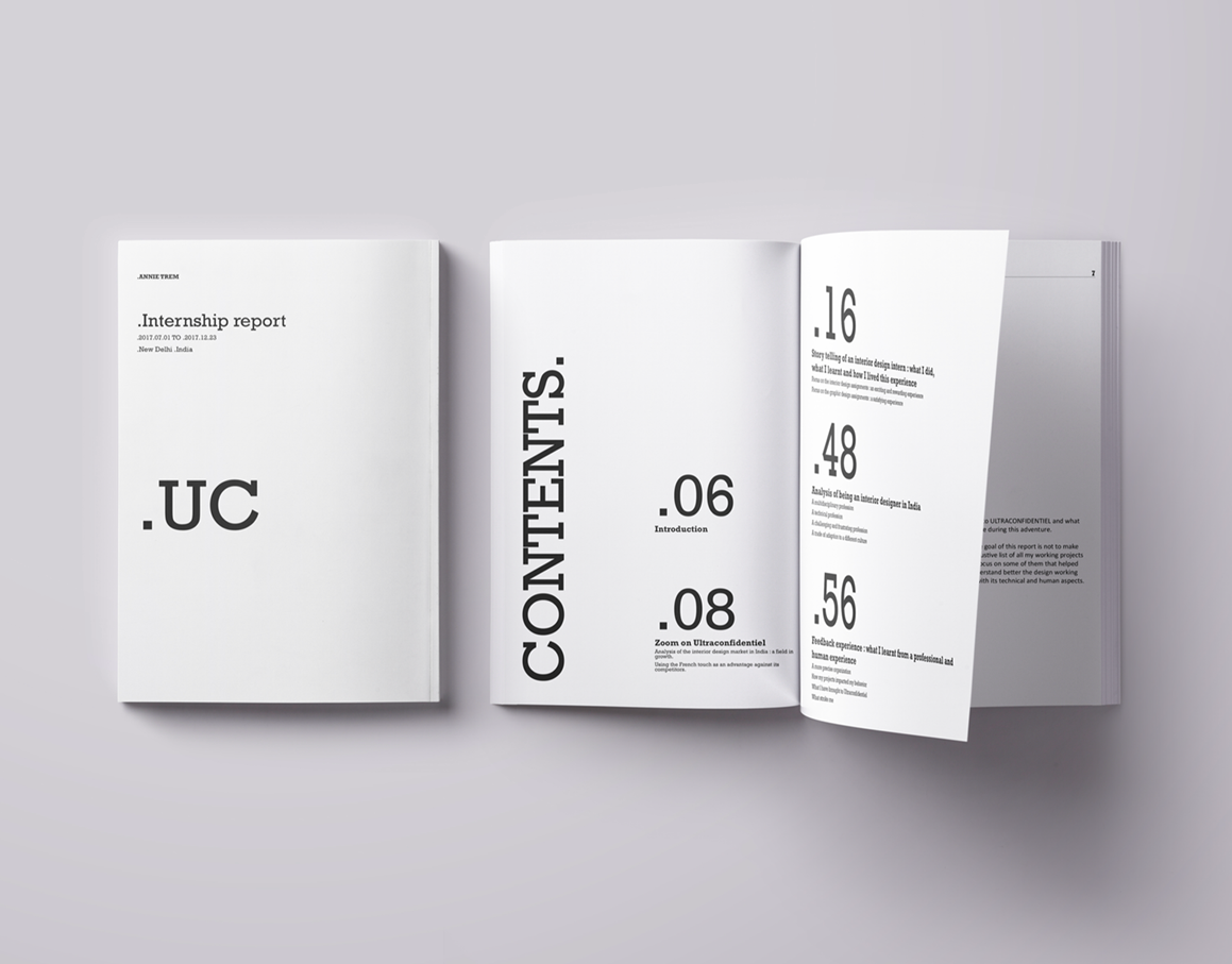 Thesis / Internship report on Behance | Thesis Book | Thesis
