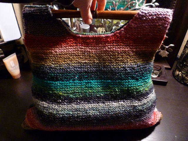 Leftover Yarns Knitting Bag