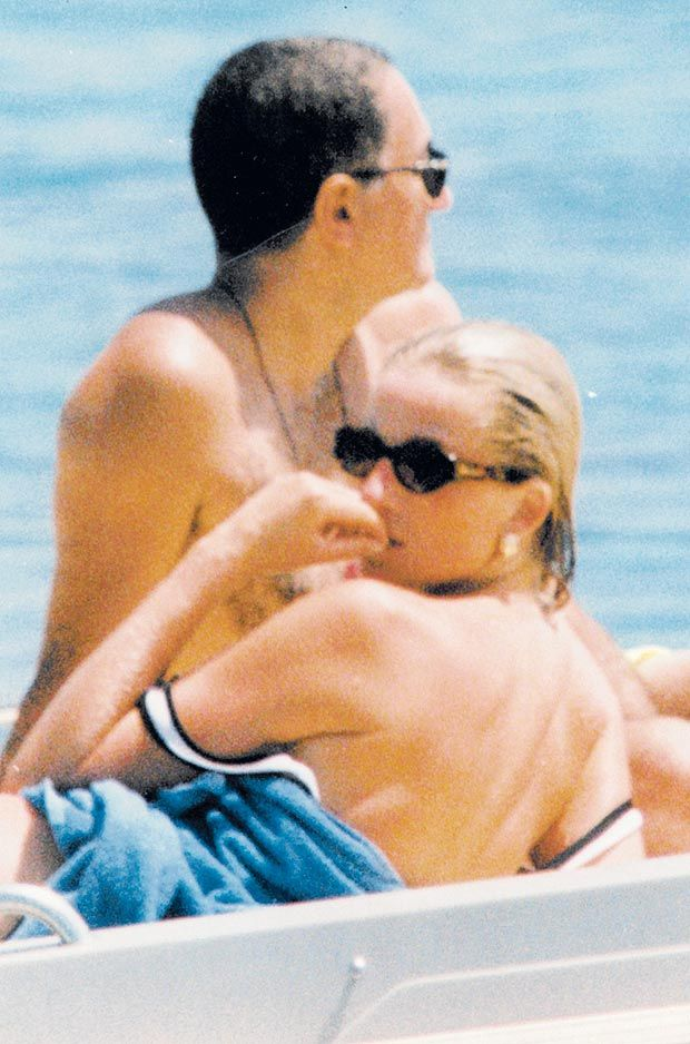 Photo Of With Boyfriend Dodi Fayed Days Before Her Death
