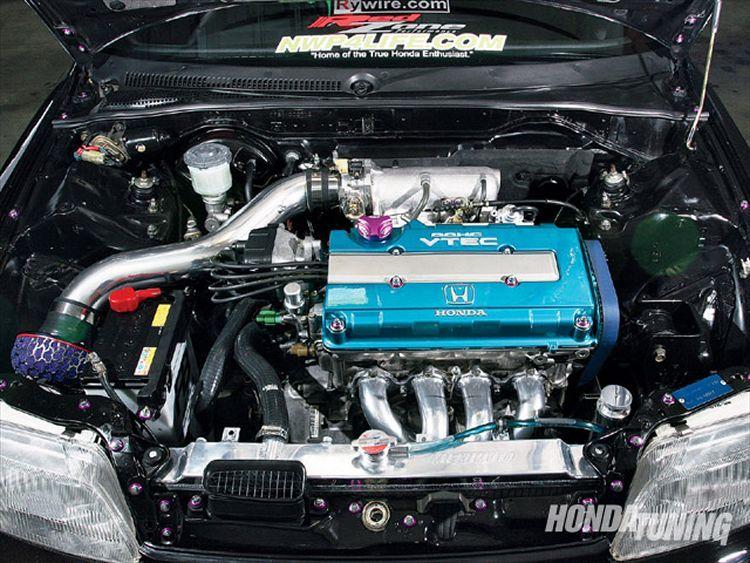 1990 honda crx sir engine bay crx honda rvinyl for 1990 honda civic motor