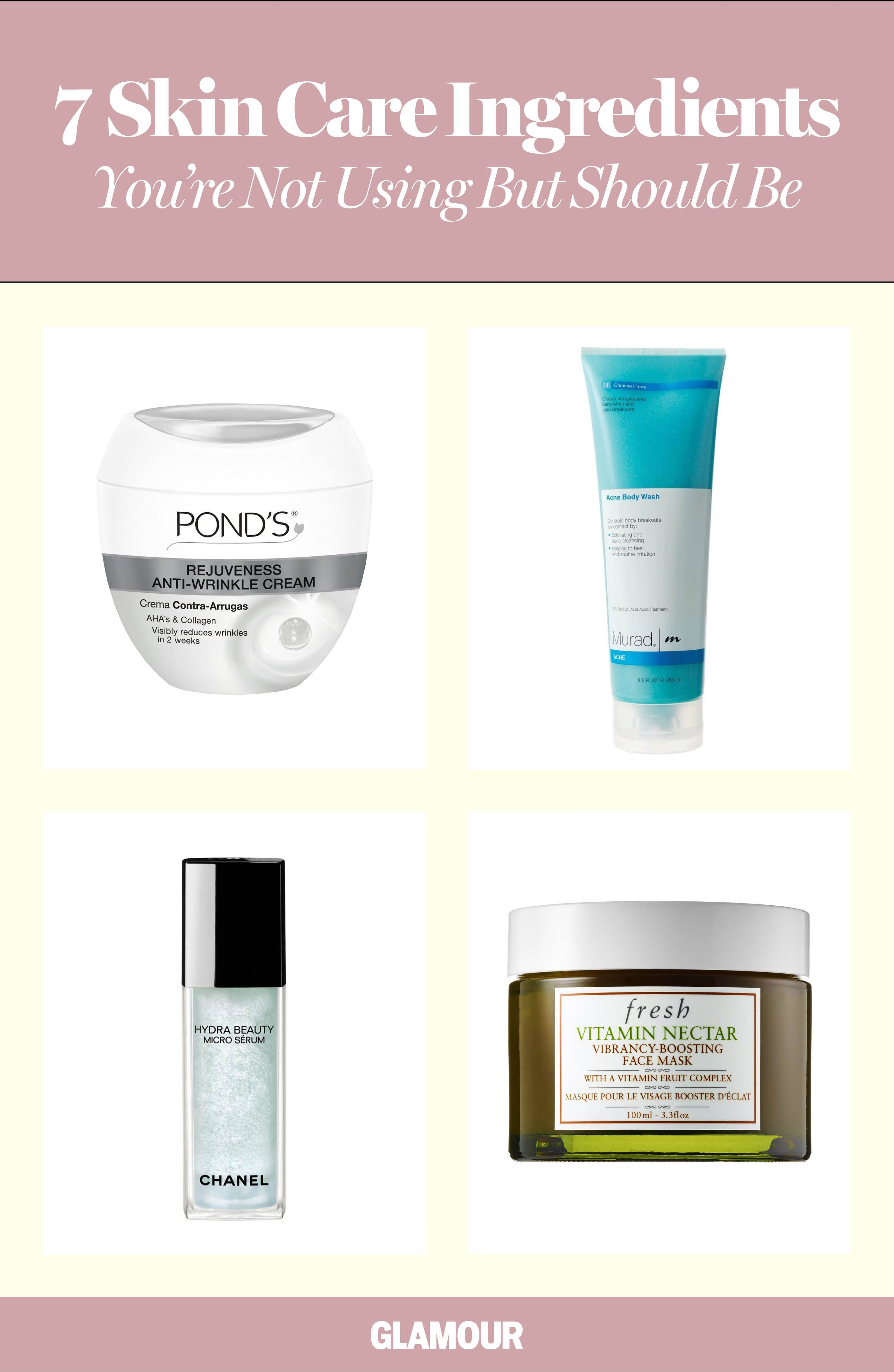 Skin Care Ingredients Youure Not Using But Should Hyaluronic