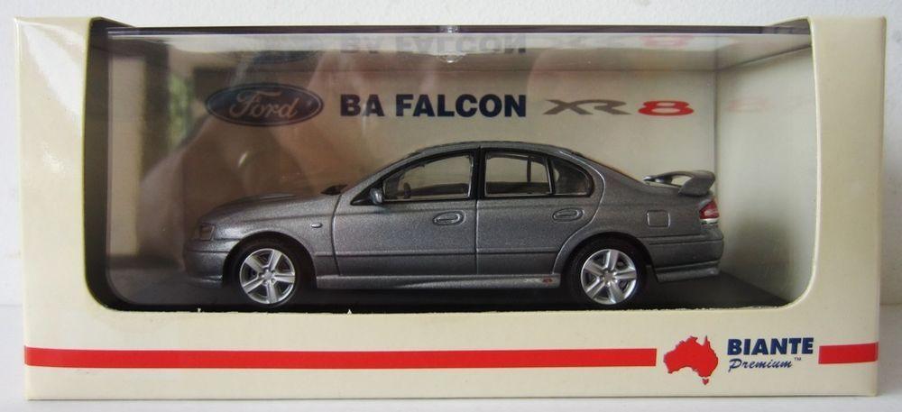 1:43 Ford BA Falcon XR8 Venom Red Biante