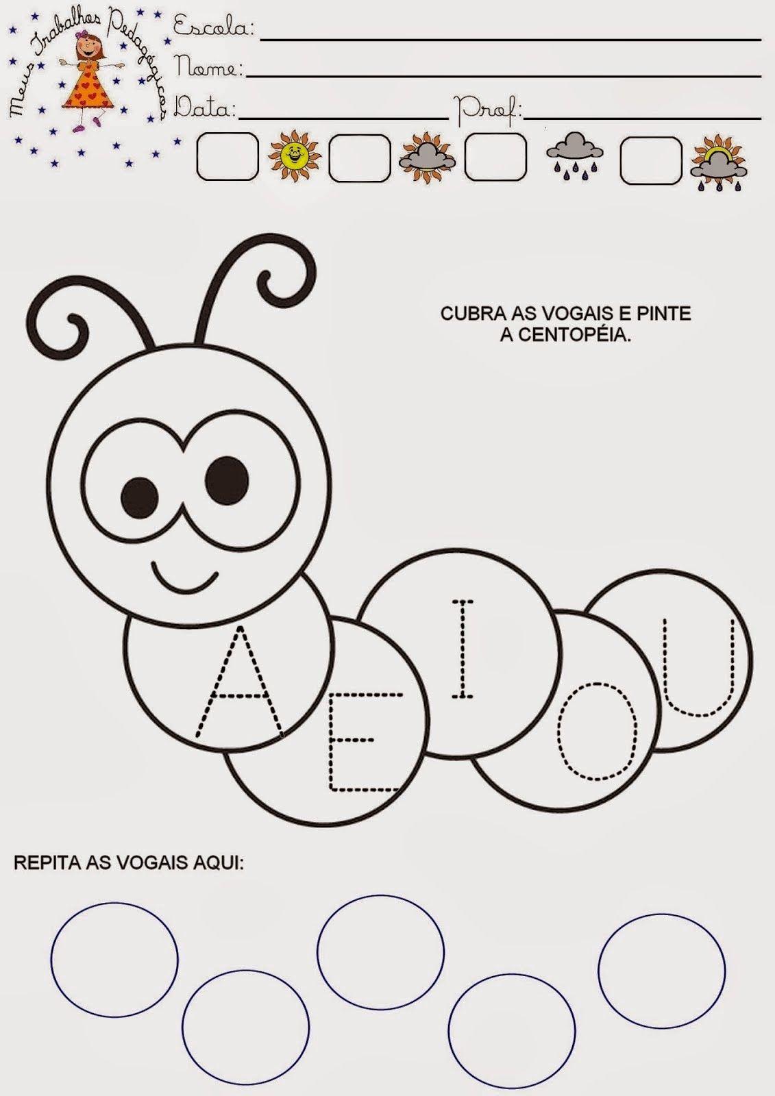 Atividades Maternal Iii Alfabeto Com Imagens Educacao Infantil