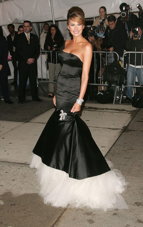 Evening Black Dress Melania Trump Looks Dresses