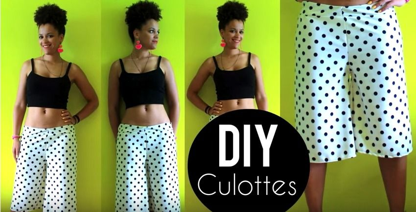 The Previous Tutorial Showing Us How To Sew Palazzo Pants Inspired