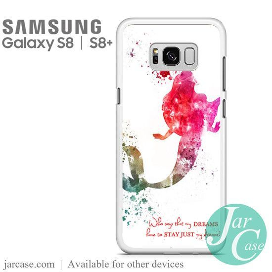 Samsung Quote Ariel Quote Art Phone Case For Samsung Galaxy S8  S8 Plus  Galaxy