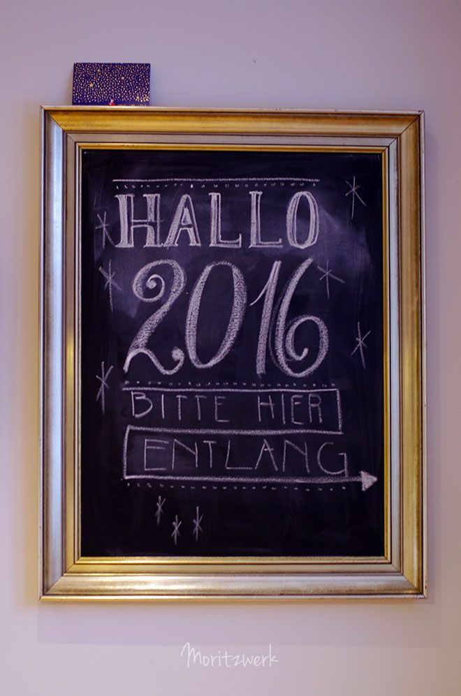 DIY Tafel in einem alten Bilderrahmen | DIY Chalkboard in vintage ...
