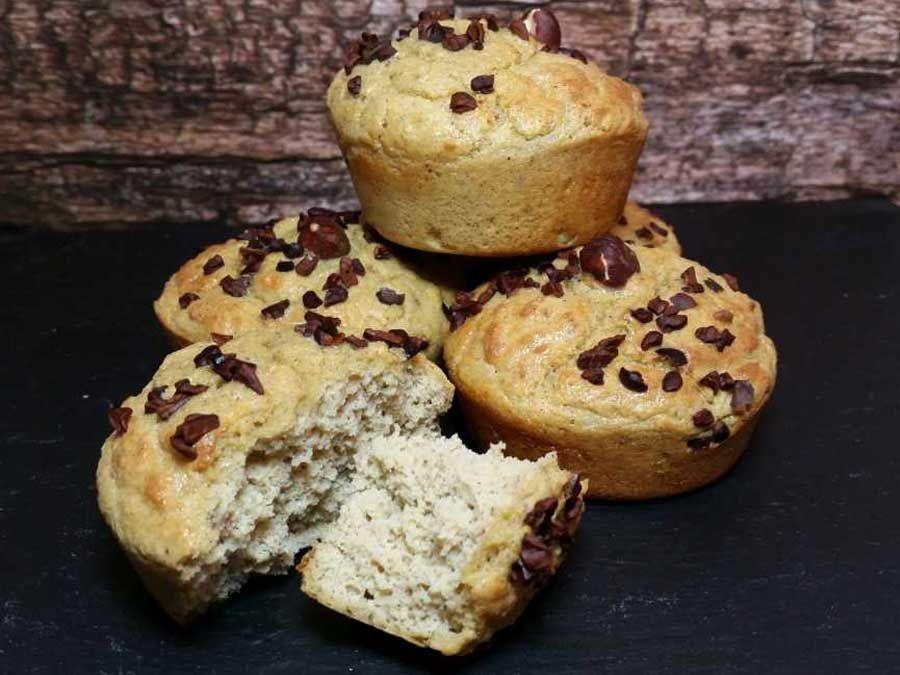 rezept wei e nougat muffins low carb glutenfrei rezept. Black Bedroom Furniture Sets. Home Design Ideas