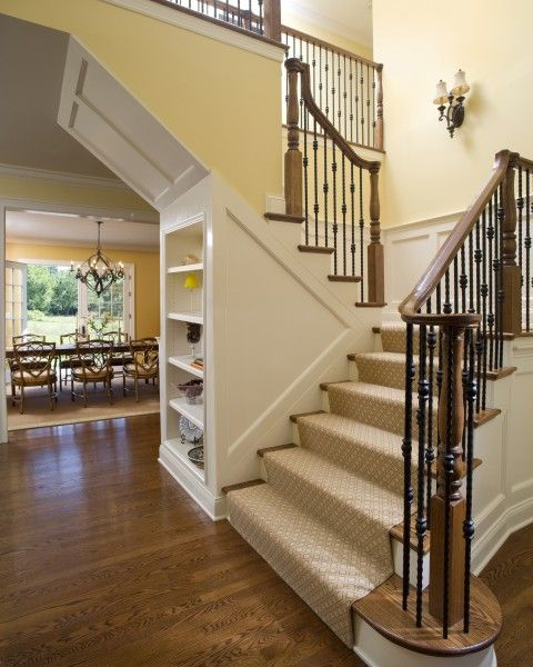 60 Unbelievable Under Stairs Storage Space Solutions: First Floor Glamour, Princeton, NJ