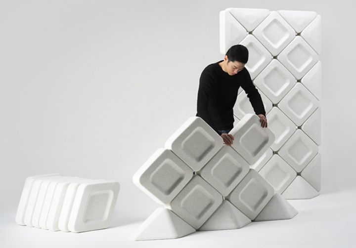 Fort system by Arihiro Miyake Flexible Partitions Pinterest - das modulare raumtrennsystem benjamin hubert