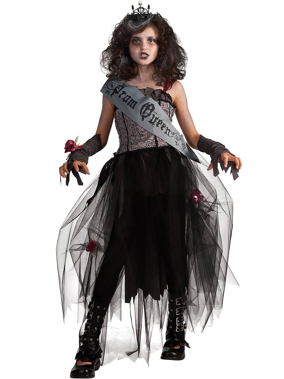 Girl's Tween Gothic Prom Queen Costume   Wholesale Tween Costumes ...