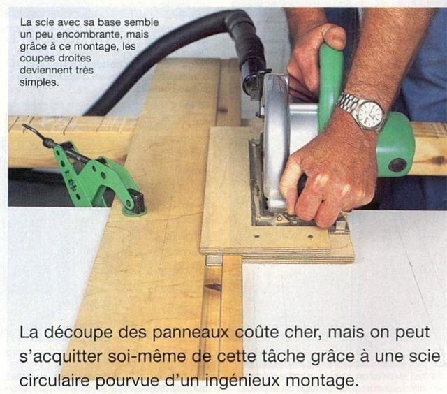 Forum association les copeaux un syst me g nial pour - Guide pour scie circulaire ...