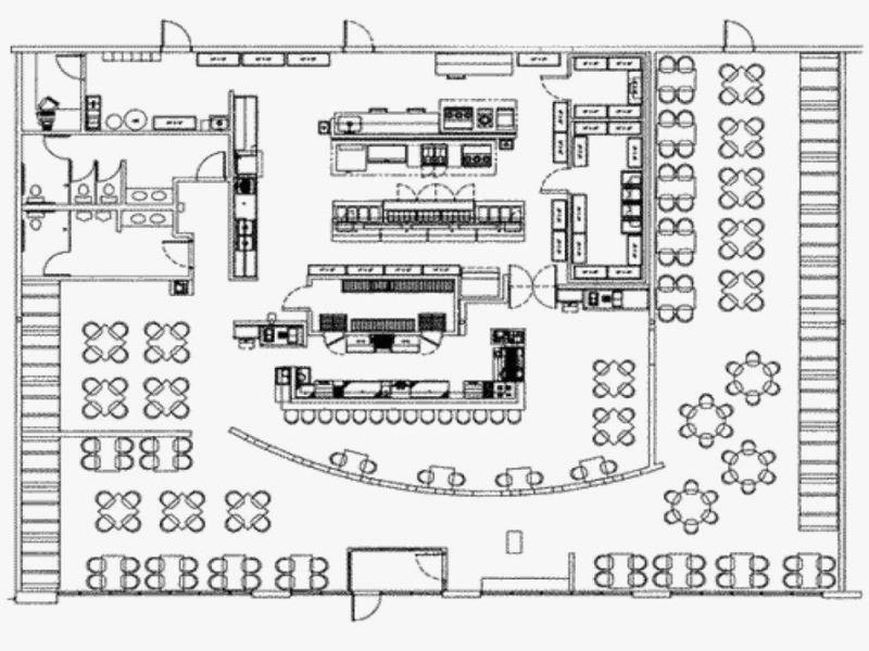 Free Restaurant Floor Plan Software Unique Restaurant Kitchen