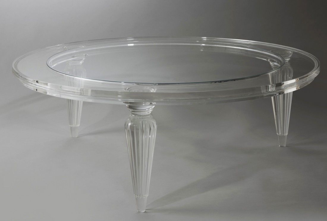 Superieur 28 Round Plexiglass Table Top