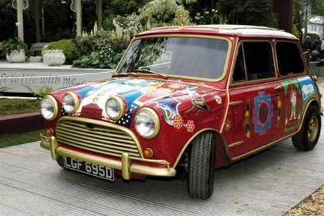 Transmission Special Celebrating The Beatles Cars Mini Cooper