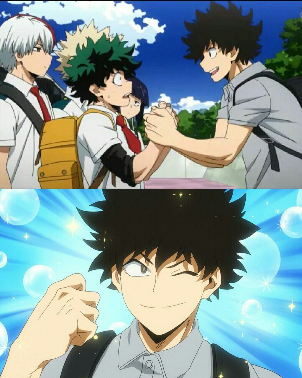 Boku No Hero Academia Season 3 Cap 15 Anime Boy Crying My Hero Academia Anime
