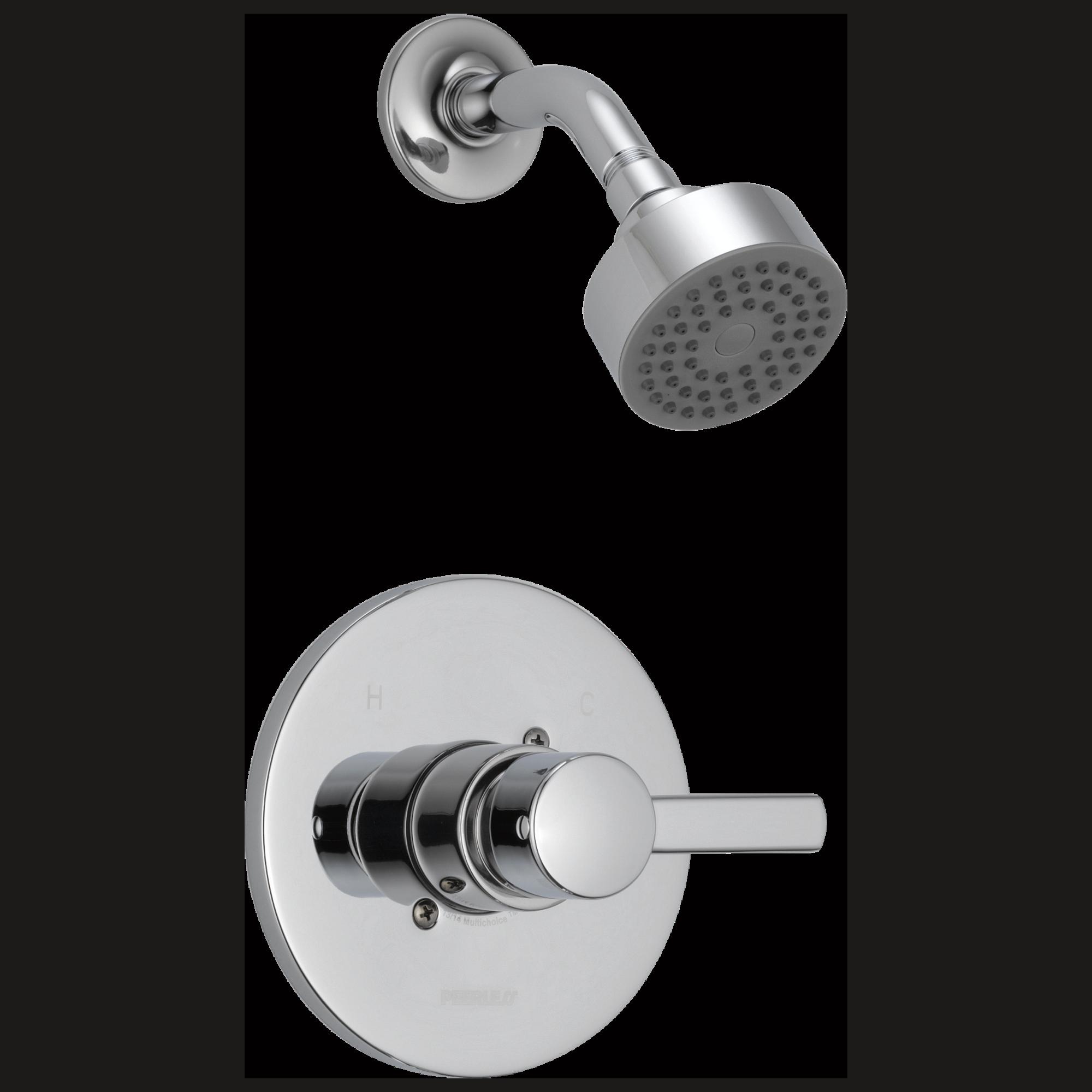Peerless Faucet Ptt188782 Shower Only Trim Kit Chrome Shower