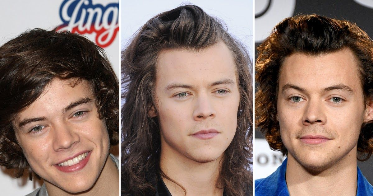 Every Single Harry Styles Haircut From 2011 To 2020 Photos The Eboy Haircut Is Gen Z S Tribute To The In 2020 Undercut Hairstyles Curly Hair Men Harry Styles Haircut