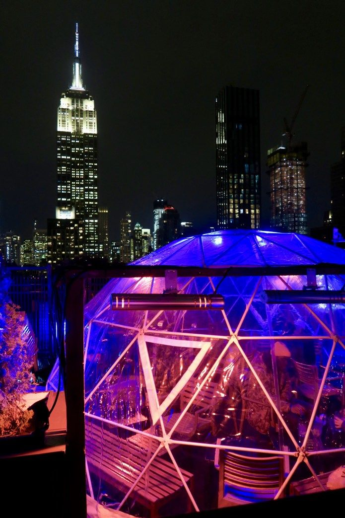 230 Fifth Rooftop Igloo Bar (With images) | New york city ...