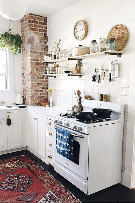 The 19 Most Incredible Small Spaces On Pinterest Kitchen Remodel Small Kitchen Remodel Cozy Kitchen
