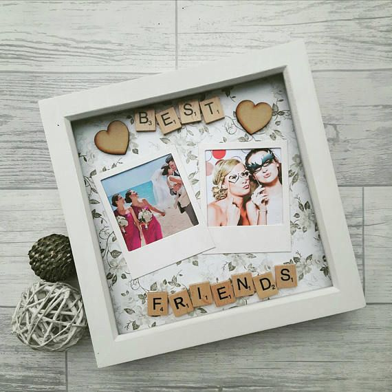 Gift For Best Friend, Best Friends Frame, Personalised Best Friend ...