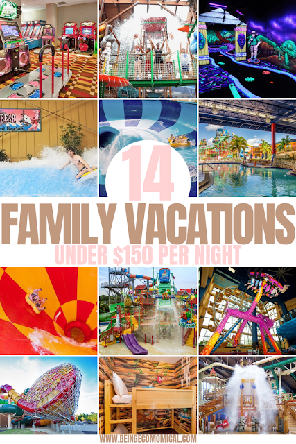 14 Family Vacations For Under 150 Per Night Eco Mom Ical Frugal Family Vacation Ideas Frugal V Kids Vacation Best Family Vacations Family Vacation Spots