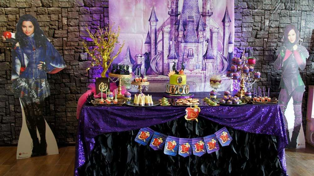 What A Great Descendants Birthday Party See More Ideas At CatchMyParty