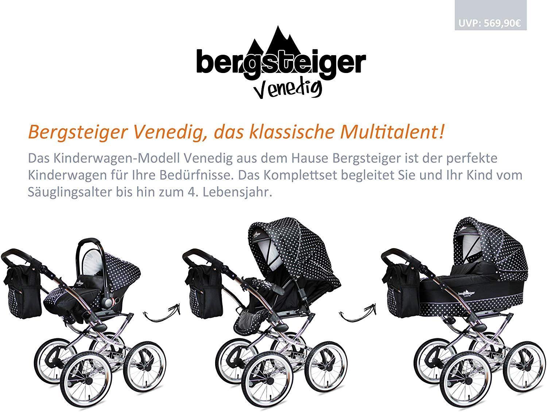 Bergsteiger Venedig Nostalgie Kinderwagen 3 In 1 Retro