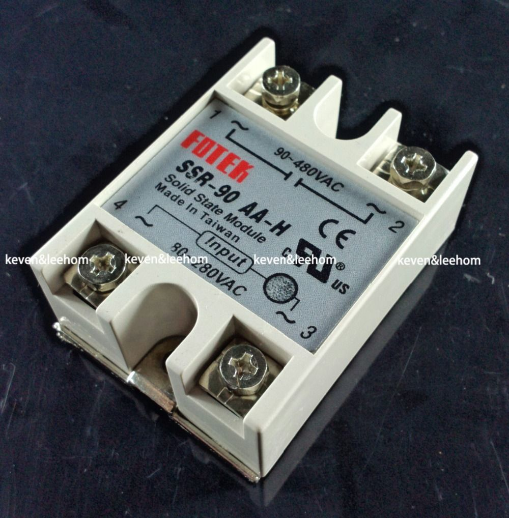Solid State Relay Ssr 90aa H 90a Actually 80 250v Ac To 90 480v Dc Circuit Cheap Games Buy Quality Regulated Directly From China Power Supply Project Suppliers