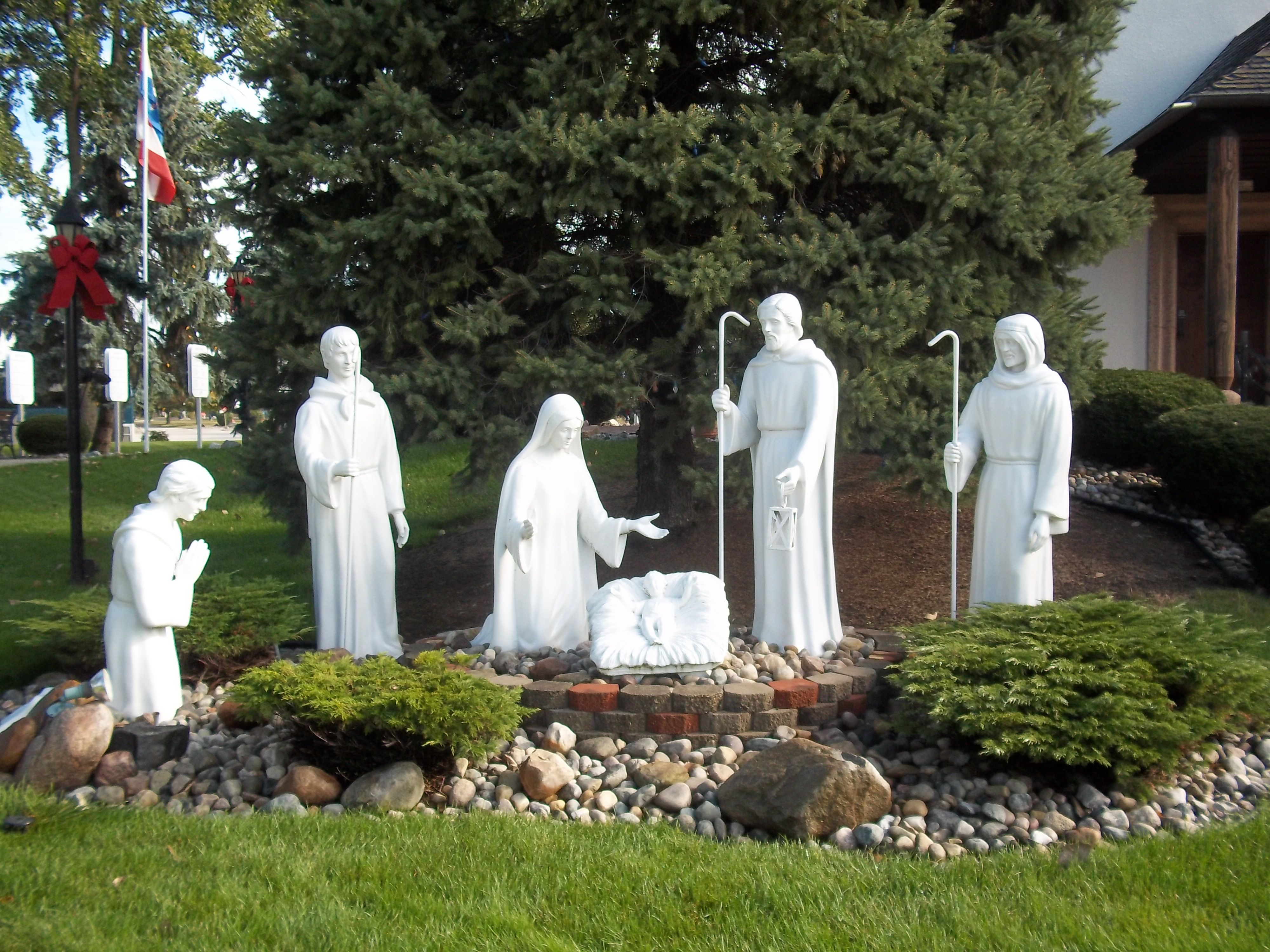 The Nativity - on the grounds of Bronners