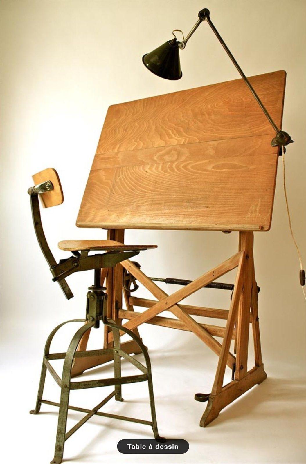 table a dessin ancienne darnay vers 1900 en bois it39s. Black Bedroom Furniture Sets. Home Design Ideas