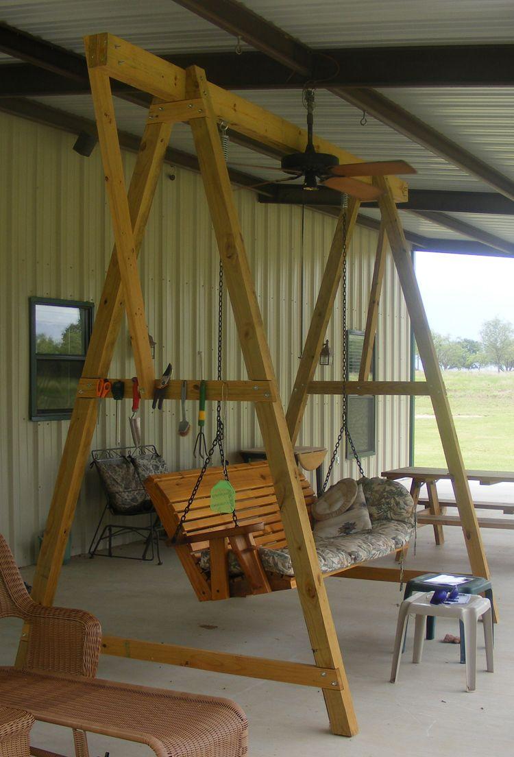 Porch swing a frame columpio pinterest porch swings swings