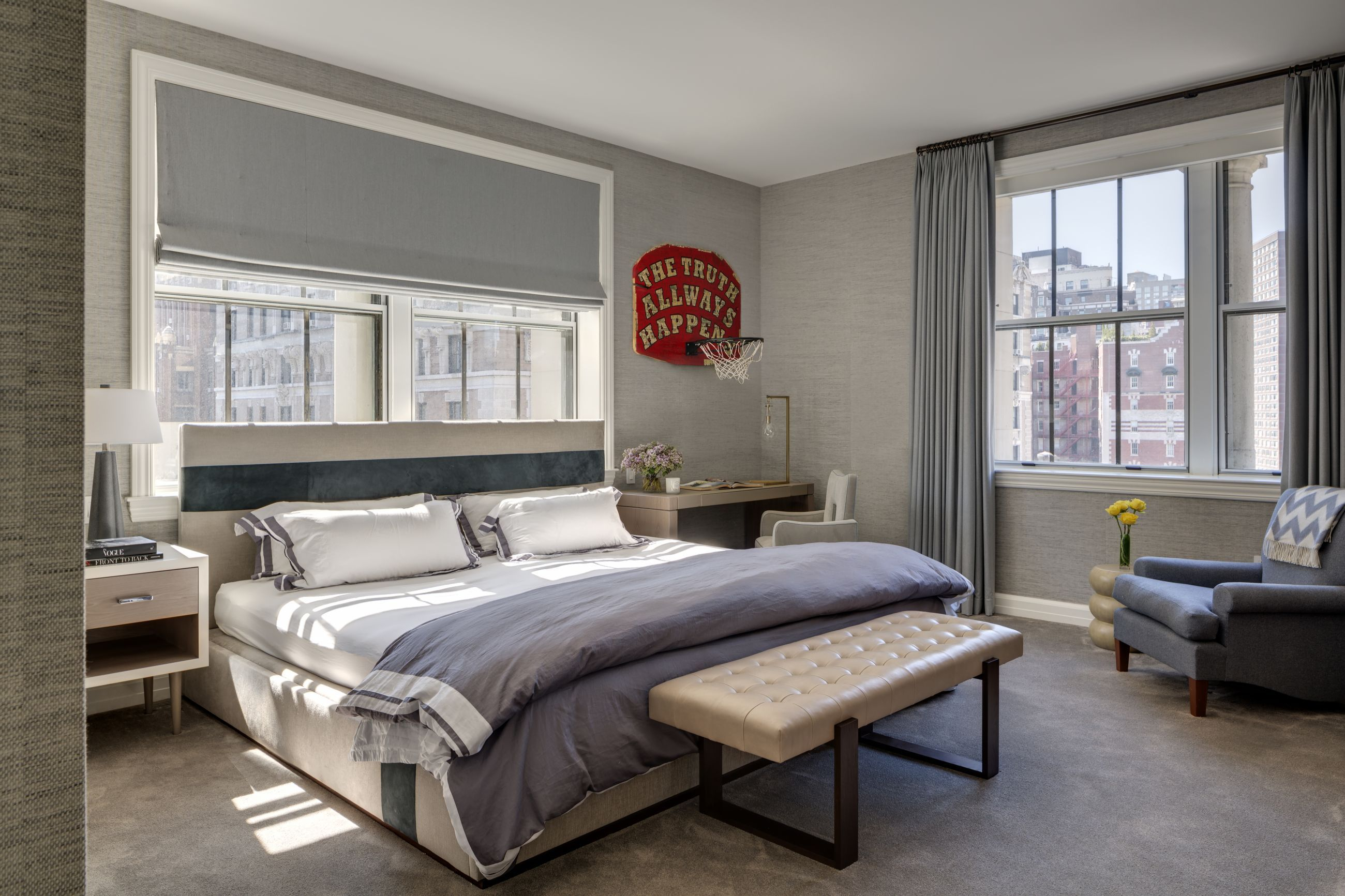 WEST SIDE RESIDENCE - Bedroom - GRADE New York | Upper ...