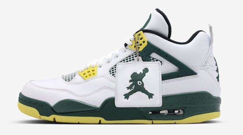 brand new 37c94 9b144 Oregon Ducks Air Jordan 4 Jumpduck - Oregon Ducks Air Jordans   Sole  Collector