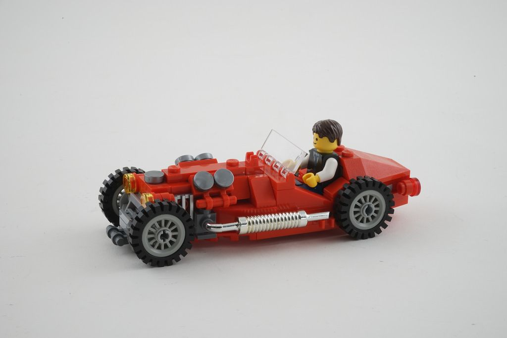 Lego Oldtimer sport car