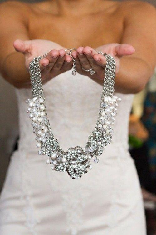 pincepm12 on wedding jewelry   joyas, boda, collar para novia