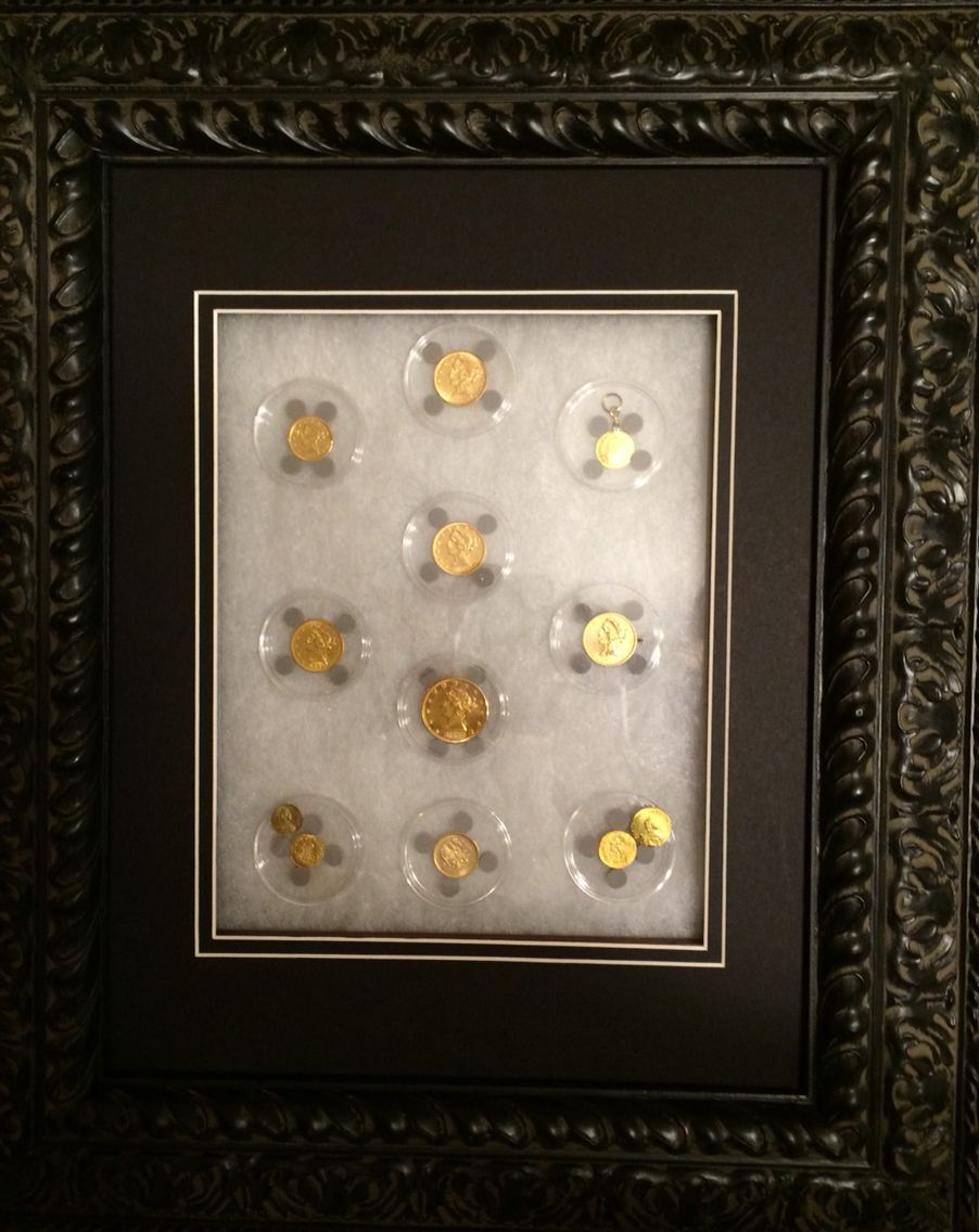 "Displaying my favorite Gold coins. ""Personal Collection ..."