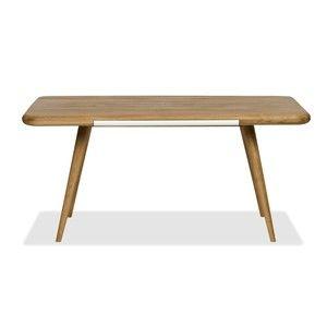 Jídelní stůl z dubového dřeva Gazzda Ena One, 140 x 100 x