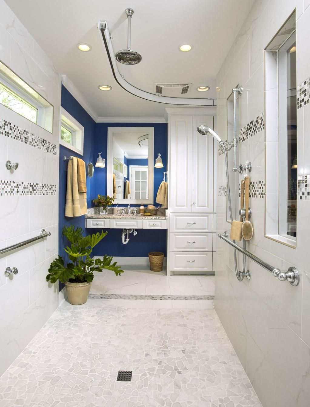 This Old House On Small Bathroom Colors Master Bath Shower