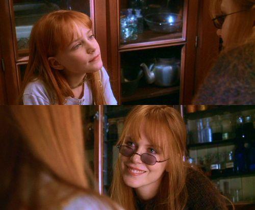 Gillian and Kylie--Nicole Kidman and Evan Rachel Wood in Practical Magic