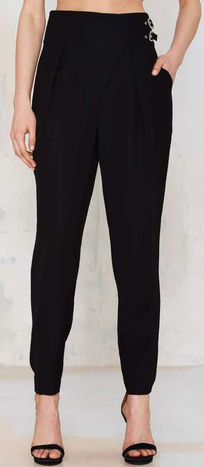 Nasty Gal Pair Up High-Waisted Pant