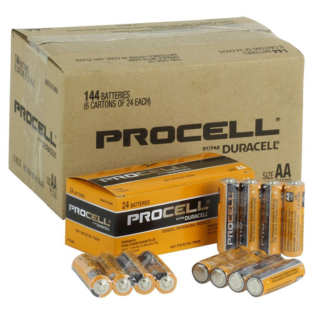 Buy Best Procell Duracell Aa 1 5v Box Of 24 Duracell Motion Sensors Battery