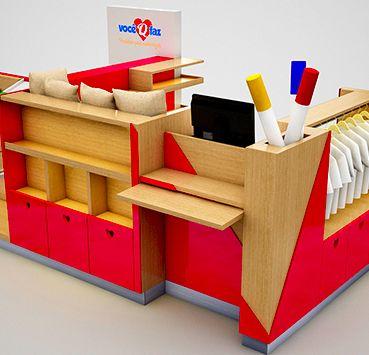 Quiosques para Shopping_Nice_Crema Yola Pinterest - wellmann küchenschränke nachkaufen