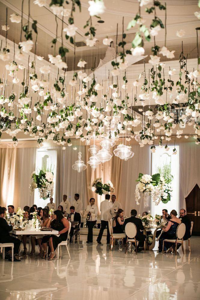 Glamorous White California Wedding at the Monarch Beach Resort - MODwedding