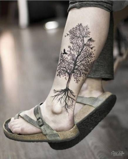 Palm Tree Tattoo Calf Tat 31+ Super Ideas
